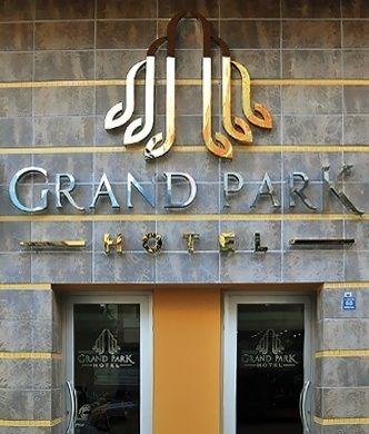 Grand Park Hotel-Corporate Identity Design
